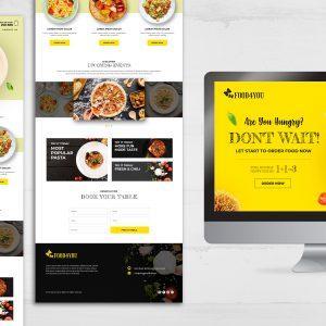 Strona internetowa – one page