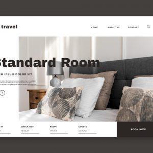 Strona internetowa hotelarstwo